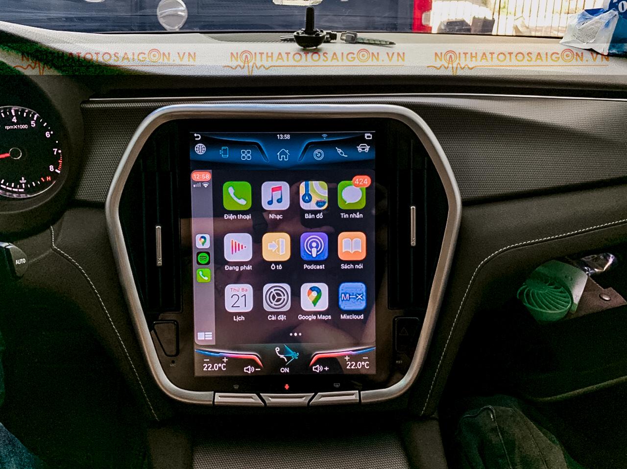 Màn hình Android cho xe Vinfast Lux